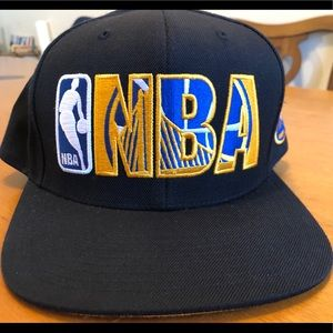 Golden state warriors hat SnapBack Mitchell Ness